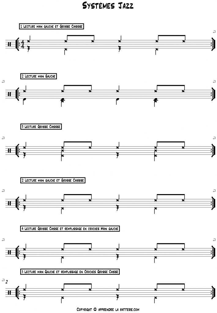 Systèmes Jazz