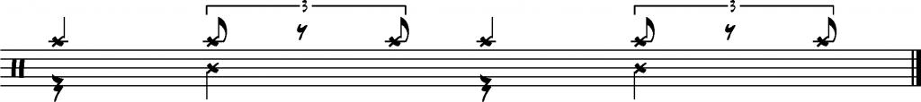 Ostinato indépendance jazz charleston
