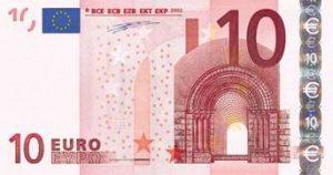 Groupe de 10 notes