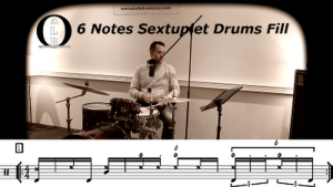 6 Notes Sextuplet Drums Fill