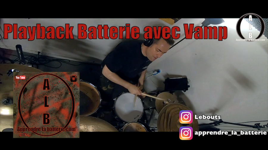 Playback Batterie avec Vamp