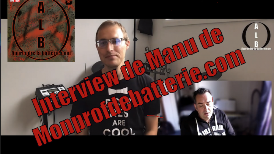 Interview de Manu de monprofdebatterie.com