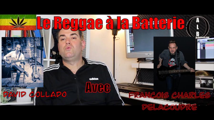 La batterie Reggae