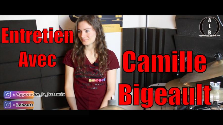Entretien avec Camille Bigeault